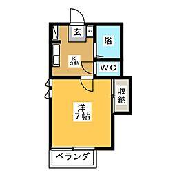 グランドフォーレ[1階]の間取り