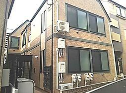 東京都中野区中央1の賃貸アパートの外観