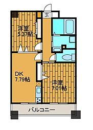 K・S柿生[5階]の間取り