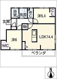 ハイツ小池 B棟[2階]の間取り