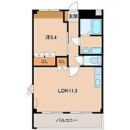 ノース・タツノ[2階]の間取り