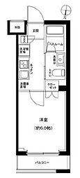 京成押上線 京成立石駅 徒歩9分の賃貸マンション 1階1Kの間取り