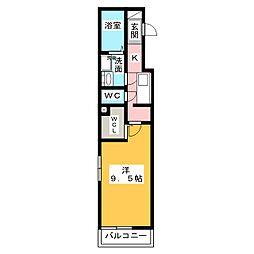 アザレアコート[2階]の間取り
