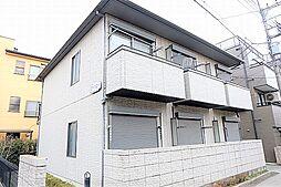 東京都昭島市昭和町5丁目の賃貸アパートの外観