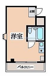 ルミナーレ東大阪[2階]の間取り