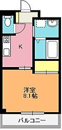 メルヴェーユ[1階]の間取り