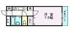 ジュブリーユ翔[2階]の間取り