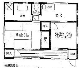 第2幸荘[1階]の間取り