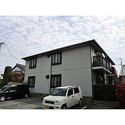 熊本県熊本市南区田迎1丁目の賃貸アパートの外観
