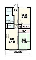 SUN_SHINE南草津[3階]の間取り
