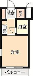 ソフィア西久保[2階]の間取り