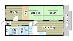 シャトー司[B-5号室]の間取り