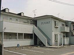 京都府京都市山科区日ノ岡ホッパラ町の賃貸アパートの外観