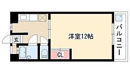 愛知県名古屋市天白区一本松2丁目の賃貸マンションの間取り