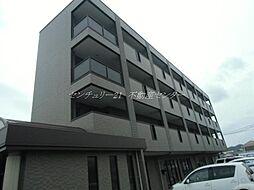 岡山県倉敷市宮前の賃貸マンションの外観