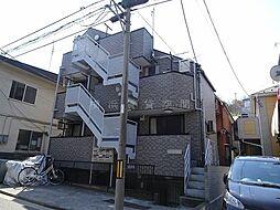 神奈川県横浜市中区本牧緑ケ丘の賃貸マンションの外観