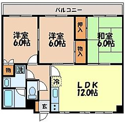 諫早七福マンション[402号室]の間取り