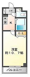 エトワール久保田[1階]の間取り