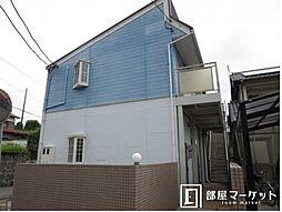愛知県岡崎市欠町字狐ケ入の賃貸アパートの外観