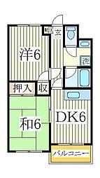 トータスガーデン[3階]の間取り