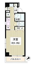 東京都中央区銀座3丁目の賃貸マンションの間取り