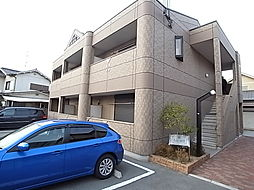 兵庫県姫路市飾磨区加茂南の賃貸アパートの外観