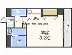 セルベッサ札幌レジデンス[4階]の間取り