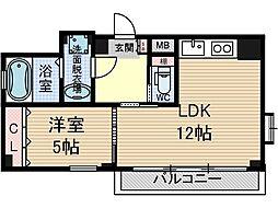 メティスクV[2階]の間取り