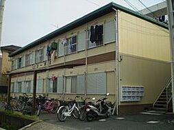 岡山県岡山市北区谷万成1丁目の賃貸アパートの外観