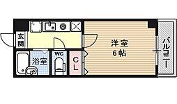 パステル椥辻[305号室号室]の間取り