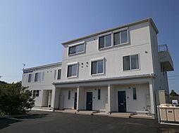 富山県射水市海老江の賃貸アパートの外観