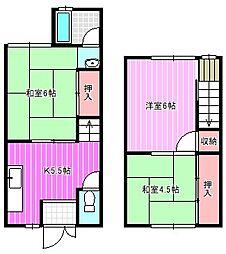 [テラスハウス] 奈良県橿原市栄和町 の賃貸【/】の間取り