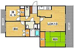 アンタレスハイム[2階]の間取り