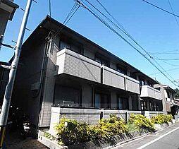 京都府京都市下京区鍵屋町の賃貸アパートの外観