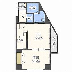 オリエントステージ表参道[2階]の間取り