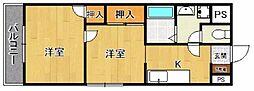 プレアール宝塚泉町[101号室]の間取り