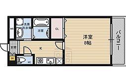 ヒルズRu0026A 諏訪9階Fの間取り画像