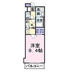 サザンクロス深井中町[2階]の間取り