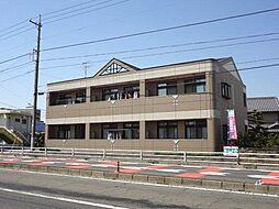 愛知県あま市篠田向島の賃貸アパートの外観