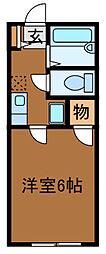 マンハイム[1階]の間取り
