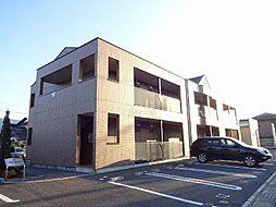 静岡県御殿場市東田中2丁目の賃貸アパートの外観