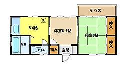 [一戸建] 埼玉県さいたま市中央区大戸3丁目 の賃貸【/】の間取り