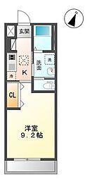 木更津市真舟5丁目新築アパート[102号室]の間取り