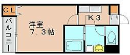 リブレア吉塚南[1階]の間取り