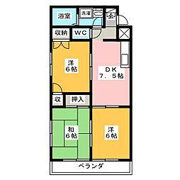 三光ビル[8階]の間取り