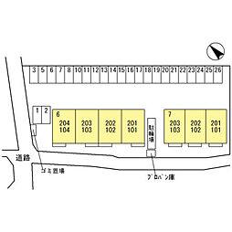 ラ・ピーノ7[1階]の外観