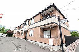 北海道札幌市北区北31条西9丁目の賃貸アパートの外観