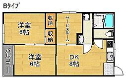 沢之町駅前ビル[2階]の間取り
