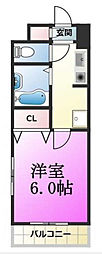 東京都江戸川区中葛西5丁目の賃貸マンションの間取り