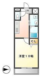 YOSHIX代官町[7階]の間取り